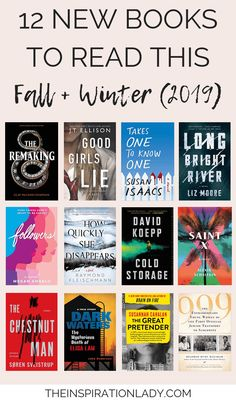 12 New Books to Read This Fall + Winter - The Inspiration Lady - Trend Book Buddies 2019 Reading Lists, Book Lists, Reading Books, New Books, Good Books, Books To Read, Psychology Books, Psychology Facts, Study Break