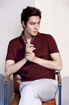 Lee Min Ho For L'Officiel Hommes' May 2014 Issue