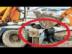 10 Extreme Dangerous Idiots Fastest Skill Excavator Truck Heavy Equipment Machines Fails Working - YouTube Excavator Machine, Nuremberg Rally, Construction Fails, Construction Machines, Safety Pictures, Safety Fail, Factory Work, Redneck Humor, Heavy Machinery