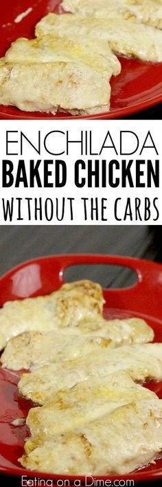 Try this easy low carb recipe, Baked Enchilada Chicken. Enjoy all the flavor of chicken enchilada bake without the carbs. Try baked enchilada chicken today!