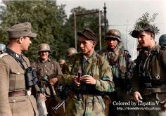 Fallschirmjäger and Panzergrenadier in the Arnhem area of Holland. September 1944. Pin by Paolo Marzioli