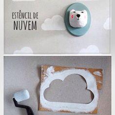 Nuage, nuages, wall paper, deco , intérieur ,