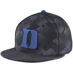 best sneakers fad21 6eeef Nike Duke Blue Devils Anthracite True Adjustable Snapback Hat