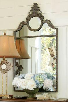 Juliette Mirror - Baroque Mirror, Iron Frame Mirror | Soft Surroundings