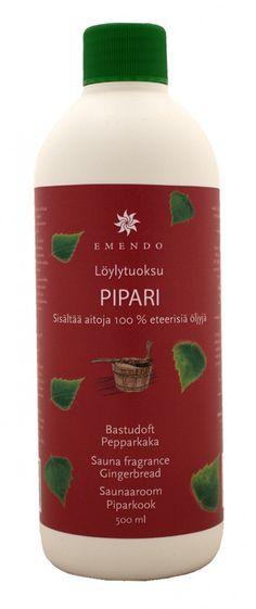 Esencia de Pan de Jengibre para sauna, producto original de Finlandia.