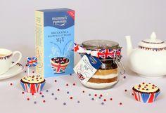 Britannia Brownie Cupcake Mix - Jar by Mummy's Yummies New Mummy, Cupcake Mix, Brownie Cupcakes, Kitchen Dining, Dining Room, Jar, Tableware, Desserts, Gifts