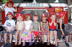 a fun-filled fire truck theme birthday party