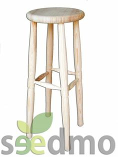 #Muebles y #decoración taburete de madera bar, ndesde  10,74 euros compra Online.