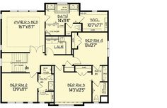 High End Style - 73351HS | 2nd Floor Master Suite, Butler Walk-in Pantry, CAD Available, Craftsman, Den-Office-Library-Study, Exclusive, Jack