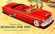 1954 Hudson Super Wasp Convertible