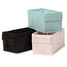 Real Simple Cross Frame Fabric Bin Pack of 2 - Bed Bath & Beyond