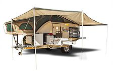 Safari trailers campers rooftop tents trailer tents
