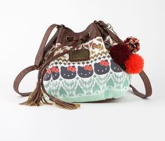 Hello Kitty Drawstring Bag: Boho