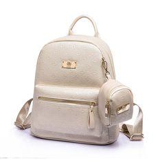 Radient Fashion Women Leaf Print Backpack Girl Canvas Laptop Bag Rucksack Travel School Bags Shoulder Bag For Girl 2018 Backpacks