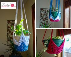 Learn how to crochet the NeverEnding Star Plant Hanger – Free Pattern. This tutorial will show you how to crochet your own plant hanger in any size using a simple star shape. Makes great gi…
