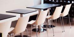 PROJECT: Café Plural, Bolzano ARCHITECT: Stenico & Nadalet Architetti, Bolzano PRODUCT: Plank's Paper chair, Slim table