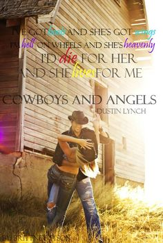 cowboys and angels, my ringtone for my husband