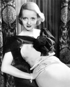 Bette Davis - My Mom used to say I had Bette Davis eyes