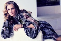 """""""Waiting for the Smile"""" The April Vanity Fair has a great interview with Julia Roberts & Mike Nichols."""