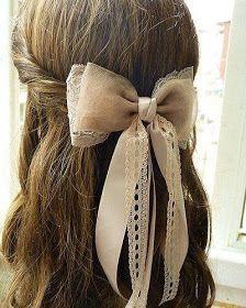 Los lazos y las pajaritas dan mucha personalidad a un look, ya sea en el pelo, en la ropa...      Aquí van algunas ideas de cómo hacer un ...