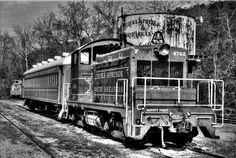 Old Train in Eureka Springs