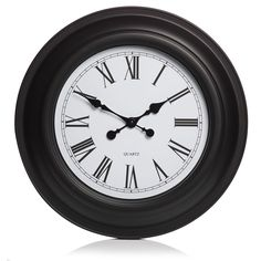 Wilko Giant Station Clock Black