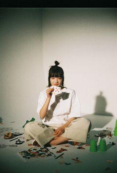 Korean Photoshoot, Komatsu Nana, Fashion Photo, Asian Girl, Portrait Photography, Style Inspiration, Cute, Interview, Anime