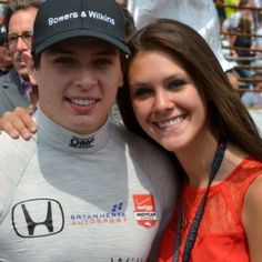 Gabby Piccarreta, she is the girlfriend of Colombian Indycar driver Gabby Chaves. Chaves is one of the Colombian car drivers who rock the IndyCar Series.