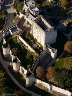 ✈️ Photo aérienne de : Loches - Indre-et-Loire (37)
