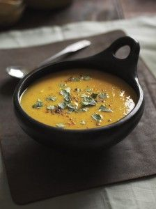 This flavoursome and warming soup #recipe is perfect for a cold and rainy weekend!
