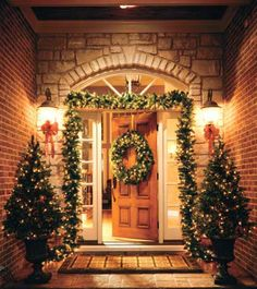 Christmas Decor for Front Door