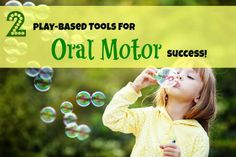 Play-Based Tools for Oral Motor Success} Welcome spring. Speech Pathology, Speech Language Pathology, Speech And Language, Oral Motor Activities, Speech Therapy Activities, Food Therapy, Therapy Ideas, Sensorimotor Activities, Developmental Disabilities