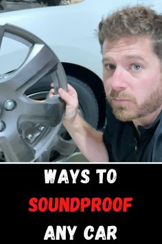 There are many different ways to soundproof a car. Reducing road noise and also reducing engine noise can make your comute much quieter. There are many different sound deadening materials that you can use. Here are the different ways to make a car quieter DIY! #soundproofguide #soundproof guide #soundproof car #sound deadening material #car hacks #soundproofing hacks #car soundproofing hacks #quiet car #quiet vehicle#honda accord Car Sounds, Car Hacks, Sound Proofing, Honda Accord, Engineering, Vehicles, Diy, Bricolage, Car