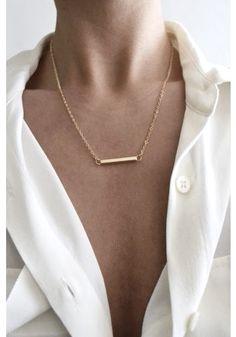 Beautiful minimal necklace