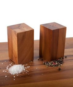 Take a look at this Salt & Pepper Shaker Set by Core Acacia on #zulily today!