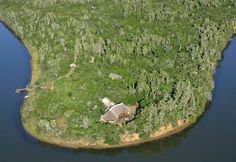Sibuya Game Reserve Forest Lodge from the air #Kentononsea #EasternCape