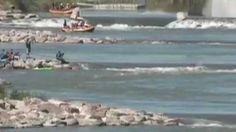 Check out the kayaking action in Pueblo, Colorado at Whitewater Park, a downtown location that makes it an easy stop on the way to or from work. Paddle, Kayaking, Colorado, Waves, Park, Videos, Outdoor, Outdoors, Kayaks