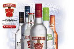 Smirnoff vodka.