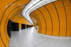 Marienplatz (Munich) underground station by Alexander Hahn.