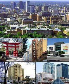 """Birmingham is the largest city in Alabama.Nicknames: """"The Magic City"""", """"Pittsburgh of the South"""" Sweet Home Alabama, Great Places, Places Ive Been, Places To Go, Beautiful Places, Tennessee, Birmingham Museum Of Art, Birmingham Botanical Gardens, Road Trip Destinations"""