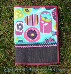 Funda para mi cuaderno de ideas de costura