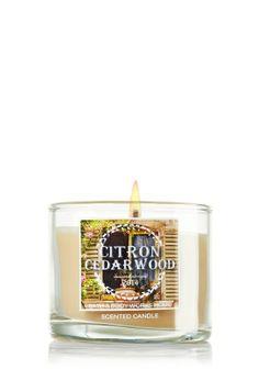 *Citron Cedarwood 1.3 oz. Mini Candle - Slatkin & Co. - Bath & Body Works