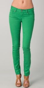 Jade jeans.. my new fav color
