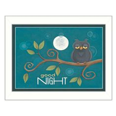Good Night by Tonya Crawford Framed Painting Print