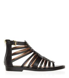 Step up your footwear game with our selection of must-have women's sandals. Discover your fashion favourites at New Look. Shop now with next day delivery. Shoe Gallery, Gladiator Sandals, New Look, Footwear, Shoes, Black, Style, Fashion, Swag
