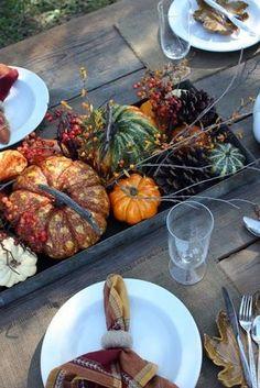 14 Fall Tabletop Ideas