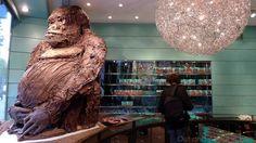 Chocolate Gorilla in Paris
