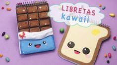 Esta simpática moda pondrá ternura en todo aquello que quieras personalizar. ¡Crea libretas Kawaii de pan y chocolate con goma eva!