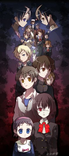 Corpse Party and Another Crossover