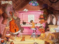 Aristocat - Everybody's diggin on that feline beat cause everything else is obsolete.